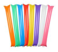 Parti Malzemeleri Tezahürat Sticks Gürültü Maker Şişme Cheer Sticks Cheer Ekibi Çubuk KTV Bar Olay SN672 Karşı Şişme Sopa