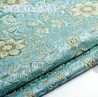 Tecido Brocado Damasco Jacquard América Estilo vestuário traje de estofamento cortina diy vestuário tecido tecido 75 * 50 cm