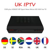 HAOSIHD satetilate receiver R1 with UK IPTV free 3500 News S...