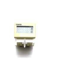 Contador digital acumulativo UP8C-N bit 0-99999999, pantalla LCD de 8 dígitos Pantalla LCD 6-36VDC rango ilimitado de voltaje universal
