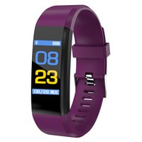 Color LCD Screen ID115 Plus Smart Wristband Heart Rate Monit...