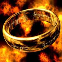 Fashion Jewelry Der Herr der Ringe für Männer Edelstahl-Ring 3 Farben