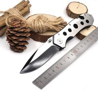 083BS Folding Survival Knife 3cr13 Stainless Steel Blade Mat...