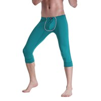 New Men' s Middle Length Thermal Underwear Sexy Pants Mal...