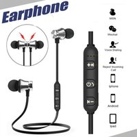 Bluetooth 4. 2 Stereo Earphone Headset Wireless Magnetic In- E...