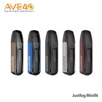 100% original Justfog MINIFIT Pods Starter Kit con 370mAh Batería 1.5ML MINIFIT Pod All-in-one Kit Vape