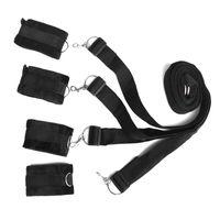 Bondage Restraint System Leg polsini BDSM slave Dominatrici polso caviglia Restraint Cintura giocattoli adulti del sesso J1132