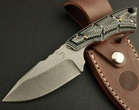 BOKE Pluse 558 Stonewashed Fixed Blade Knife Micarta Handle ...