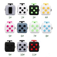 Mini Fidget Cube Toy Vinyl Desk Finger Toys Squeeze Fun Stre...