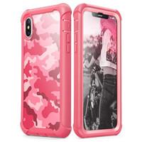 For Iphone XR Case Full- Body Soft TPU Hard PC Back Cover Cam...