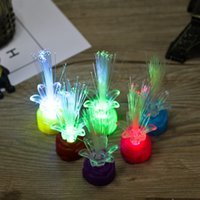 The new small night light of plum flower LED colorful rose f...