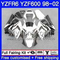 Тело для черного пламена Yamaha Hot YZF R6 98 YZF600 YZFR6 98 99 00 01 02 230HM.12 YZF 600 YZF-R600 YZF-R6 1998 1999 2000 2001 2002 Объекты