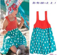 baby girl Summer dress Cotton Princess skirt Kids Sleeveless...