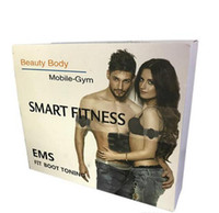 عضلات البطن EMS الكهربائية المدرب العضلات الحبر الذراع عبس العضلات الجسم النحت ممارسة الإلكترونية محفز الذكية للياقة البدنية EMS مدلك
