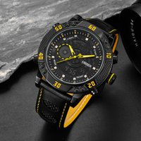 7126a7eb0fe Venda por atacado-Hot OHSEN Moda Quartz Digital Masculino Relógio 30 m Swim  Man Relógios Desportivos Relogio Masulino Dual Time Display relógios de  Pulso