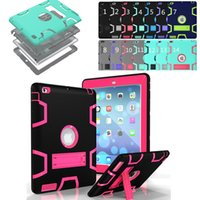 3 IN 1 Hybrid Heavy Duty Robot Cases for New iPad Pro Air Mi...