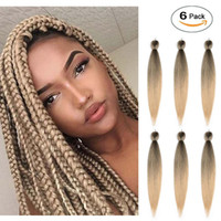 #T27 Pre Stretched Professional Braiding Hair Synthetic Hair...