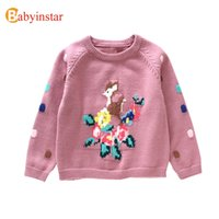 Babyinstar Girls Princess Sweater Toddler Children Long Slee...