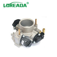 LOREADA Conjunto del cuerpo del acelerador aptos para LADA 1.6L parte n.º 2112.1148010-12 Tamaño del orificio 46 mm 2112114801012 entrada de aire de repuestos de automóviles
