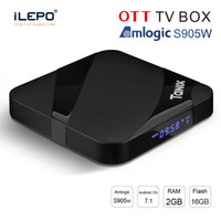 Tanix TX3 Max. Android 7.1 Smart-TV-Box Amlogic S905W 2 GB 16 GB 2,4 G Wifi HDMI IPTV Set-Top-Box PK X96 Mini