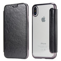 case for iphone x flip phone holster for iphone 7 6 plus bac...