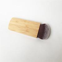 TT-SERIES girdap güç kontur bronzlaştırıcı fırça - Bambu Allık Pudra Kontur Fırçası - Güzellik Makyaj Fırça Blender Aracı