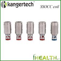 Kanger SSOCC remplacement Coil Tête verticale OCC Bobines 0.15ohm 0.2ohm 0.5ohm 1.2ohm 1.5ohm bobine pour Kanger série Subtank
