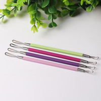 2Pc Stainless Steel Acne Removal Needle Blemish Comedone Acn...