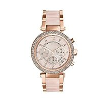 Fashion Quartz Women' s Watch Rose Gold Dial Stainless S...