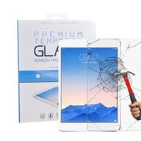 ل ipad الزجاج المقسى حامي الشاشة لباد برو 9.7 10.5 باد البسيطة السينمائي اللوحي حامي الشاشة 9 h 0.4 ملليمتر الزجاج المقسى حزمة البيع
