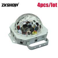 80% Rabatt 16 * 1W LED Kristall magische Kugel-Laser-Licht-Animation DMX512 DJ-Disco-Partei-Hochzeit Verein Pub KTV Stadiums-Lichteffekt-Projektor