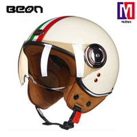 2018 BEON B- 110B ABS material open face helmet motorcycle wi...