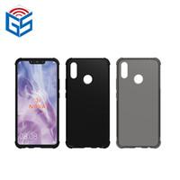 Per Huawei Honor Nova 3 3i V9 Giochi chiaro di scossa caso assorbimento bordo trasparente copertura posteriore di TPU