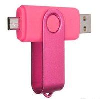 Chiavette USB 2.0 girevoli TOTATE OTG USB 2.0 girevoli per Memory Stick per smartphone Android