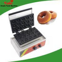Machine à beignets commerciale 15 trous donut faisant la machine mini donuts fabricant gaufrier café maison snack équipement