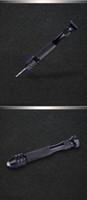 Freeshipping 10 قطعة / الوحدة البسيطة مايكرو الألومنيوم حفر اليد مع تشاك بدون مفتاح 10 قطعة / الوحدة عالية السرعة الصلب تويست تدريبات أدوات الروتاري الخشب الحفر