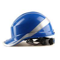 안전 헬멧 하드 모자 일 모자 포스 퍼 줄무늬 건설 사이트 절연 제 헬멧을 가진 ABS 절연재 102018