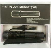 Hot Light Tactical New 1102 Lanterna EDC Linternas Torcia LED Difesa Torcia Tipo di difesa 1101 Self Selfisen vendita gratuita SIRST