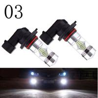 2 unids H11 H8 LED Bombillas de luz de niebla 9005 HB3 HB4 9006 Luces de circulación diurna del coche Auto DRL Lámpara de conducción 12 V 24 V 6000 K blanco