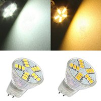 G4 MR11 LED Spotlights 15 SMD 5730 Ampoules lumières AC DC 12V Super Bright Warm / Froid Blanc
