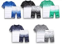 Large Yard 5XL Summer Men Training Suit Homme Short T Shirt ...