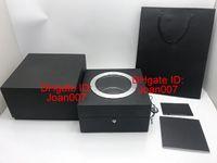 LSL9013 Nokta Tedarik Yüksek Kalite Kutusu için Saat Kutuları İzle Kutusu Siyah Saatler Kutuları Şeffaf H Orjinal İzle Kutusu