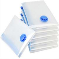 Vacuum Space Saver Bag Compressed Organizer Abbigliamento Quilt Air Pump Seal Bag per organizzare armadio Armadio Storage Bags GGA1088