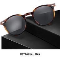 NEW OV5258 eyeglow lunettes polarisées de verre de Design48-18-135UV400goggles ronds Rétro Vintage cas full-set sortie OEM LivraisonGRATUITE