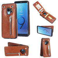 For Samsung galaxy s9 plus Pu Leather Luxury Wallet Cover Ca...