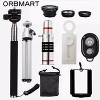 wholesale 18X Telescope + 3 in 1 Fish Eye Lens + Extendable ...