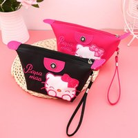 New Arrival. 1pcs Women Portable Cute hello kitty Multifunction Beauty  ZipperTravel Cosmetic Bag Makeup Case Toiletry Pouch Cosmetic Cases 3981d6f63a