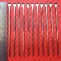 cera atomizzatore strumento dabber metallo titanio bastone cucchiaio cera Dab strumenti orecchio pick strumento per erba secca vaporizzatore a base di erbe vapori