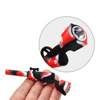 4. 3 Inches Mini Silicone Pipe Rifle Innovative Smoking Pipes...