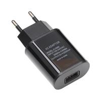 جديد الاتحاد الأوروبي التوصيل USB شاحن 2A أوروبا العالمي للهاتف المحمول شاحن USB محول الجدار شاحن لفون 5 6 7 6S زائد المسؤول